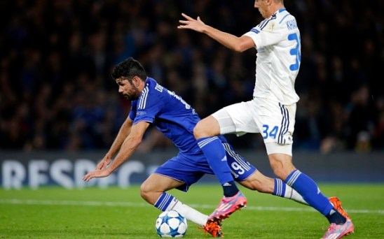 Diego Costa ainda não rendeu o esperado na temporada (Foto: The Telegraph)