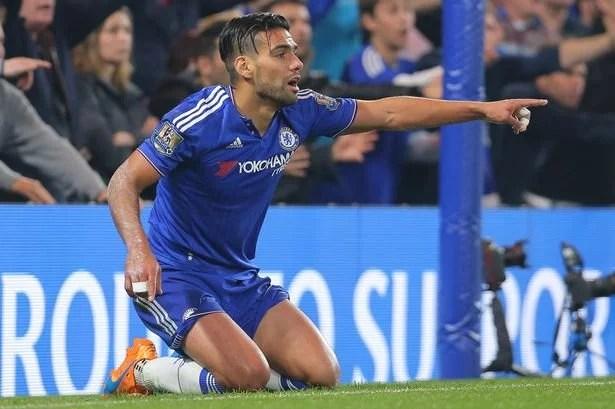 Falcao ainda não brilhou com a camisa do Chelsea
