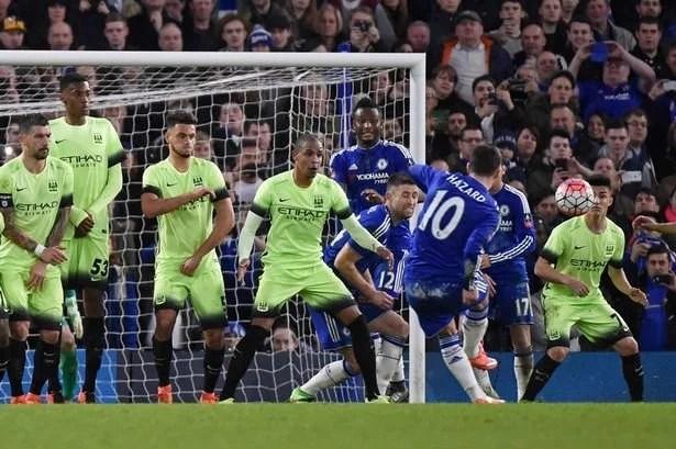 Hazard foi decisivo com um gol e duas assistências (Foto: Reuters/Reprodução)