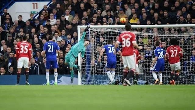 Courtois - 07-02 - Chelsea x Man Utd