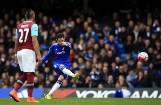 Fàbregas teve dia de artilheiro em Stamford Bridge (Foto: Chelsea FC)