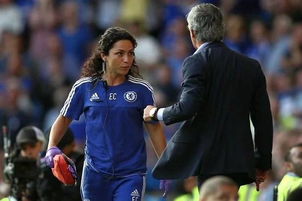 Médica se desentendeu com o então treinador José Mourinho e deixou o clube (Foto: BPI)
