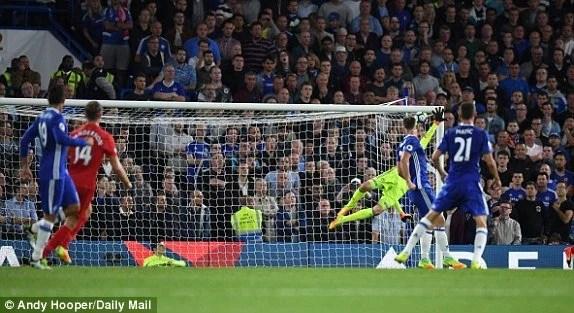Henderson fez um golaço em Stamford Bridge