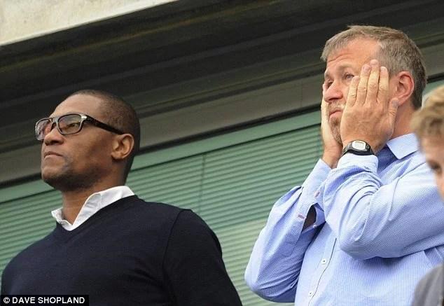 Emenalo tem alguma proximidade com o dono do Chelsea, Roman Abramovich