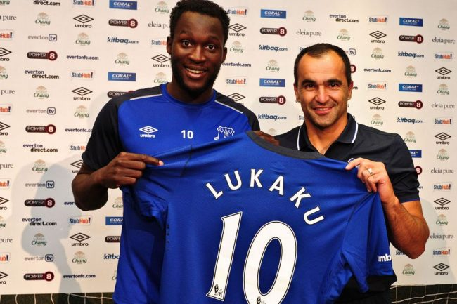 Sem chances no Chelsea, Lukaku foi se tornar um grande atacante no Everton (Foto: Getty Images)