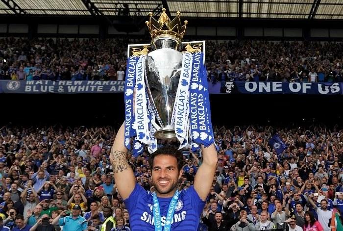 Fàbregas foi de grande importância no título inglês de 2014/15, mas caiu nas duas temporadas seguintes (Foto: Reuters/Adam Holt)