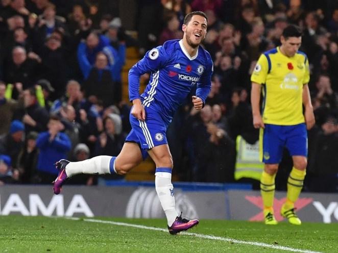 Hazard tem atuado com maestria ao lado de Diego Costa e Pedro