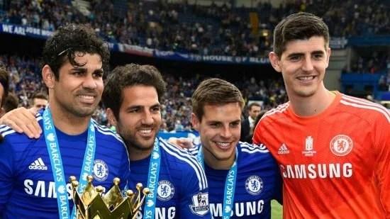 Diego Costa e Cesc Fàbregas formaram uma das parcerias mais prolíficas da Premier League (Foto: Goal)