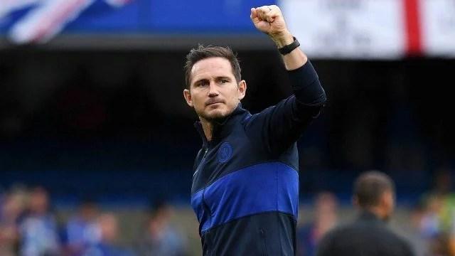 Lampard comemora