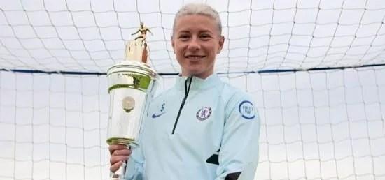 Bethany England é nomeada Atleta do Ano na temporada 2019/20.