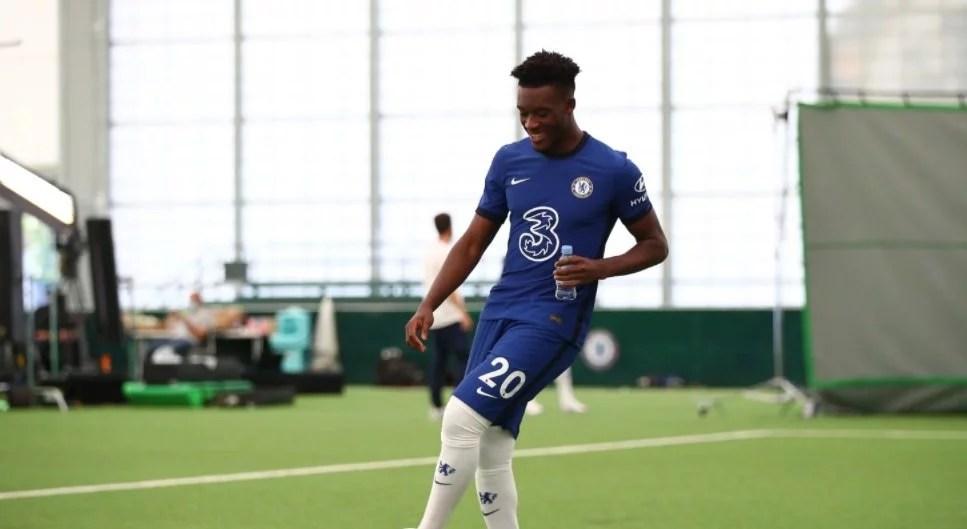 Chelsea: Callum Hudson-Odoi foi convocado para a Inglaterra Sub-21. Por isso, Marc Guehi e Odoi entram em campo hoje contra Andorra. (Chelsea FC / Website)