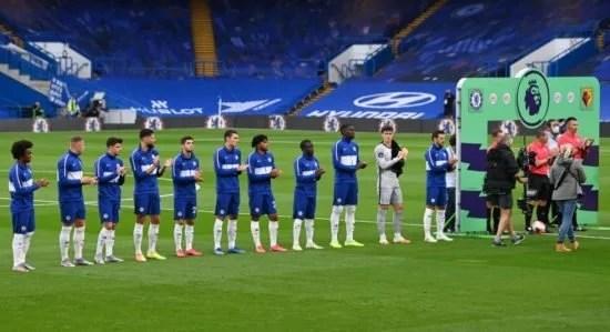 O Chelsea acumuluou mais de 5000 minutos de jogo na temporada 2019/20