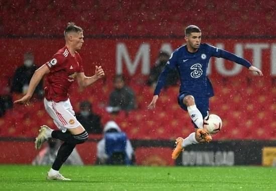 Pulisic atuou contra o Manchester United, no Old Trafford. Entretanto, ele sentiu uma fisgada no aquecimento do jogo contra o Burnley.