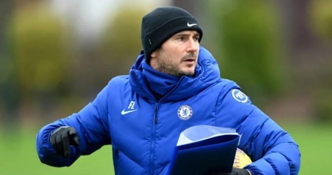 Lampard concede entrevista sobre duelo contra Everton.