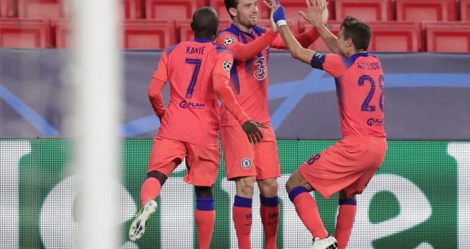 Chilwell marcou um dos gols sobre o Porto