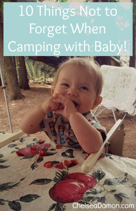 10 Things Not to Forget When Camping with Baby