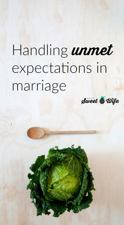 Handling Unmet Expectations in Marriage 1