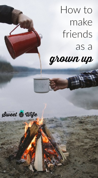 """If life has recently gone through a lot of changes for you, you may be left wondering, """"Where are all my friends at? How can I make new friends??"""" Well, with you in mind, I've written up this list of how people like us can make real, face-to-face friends with whom we can feel connected and known."""