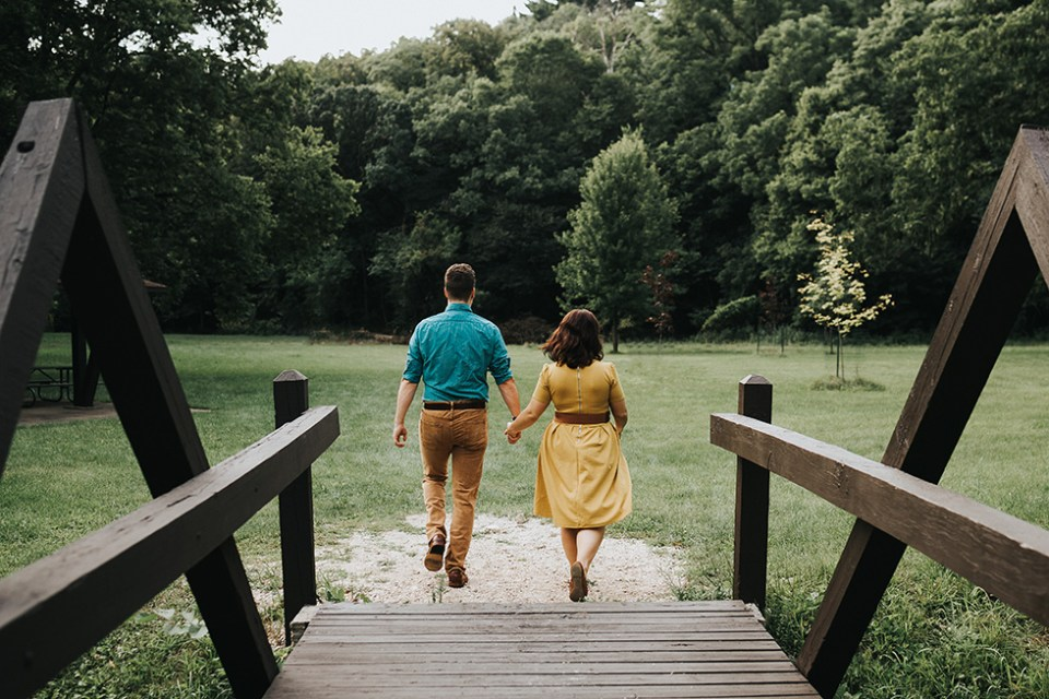 Backbone State Park Engagement Photos