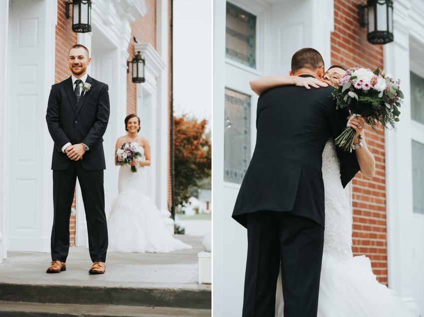 how to nail your first look photos