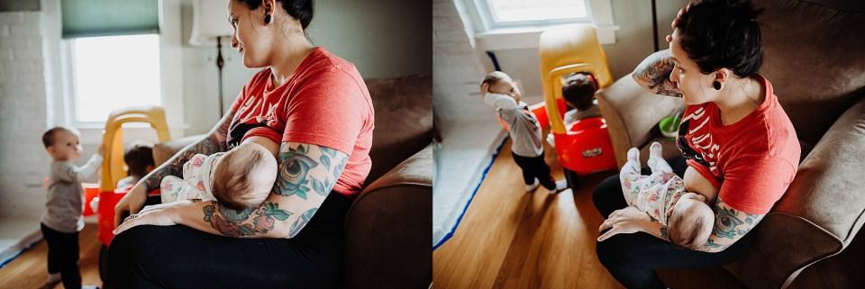 Chelsea Kyaw Photo - Iowa Photographer - Breastfeeding-3