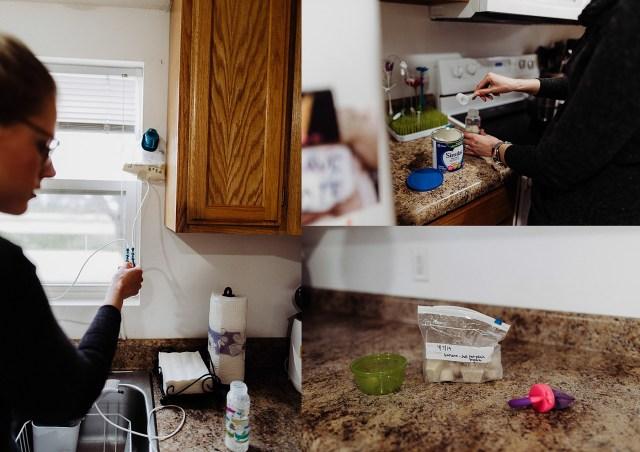 Chelsea Kyaw Photo - Iowa Photographer -Tube Feeding