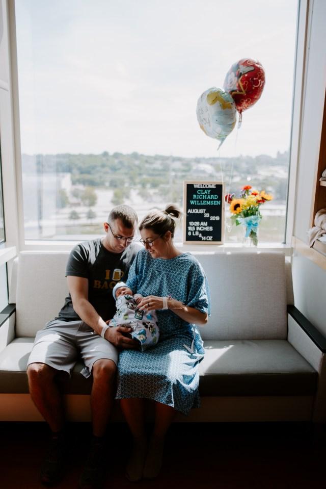 Iowa Newborn Photographer
