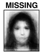 Victim (Missing) Digital collage
