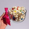 Popcorn and M&M's