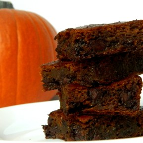 pumpkin brownie 1