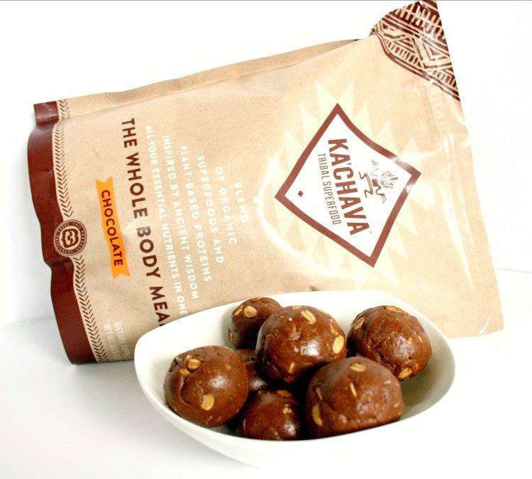 Chocolate Peanut Butter Bliss Balls