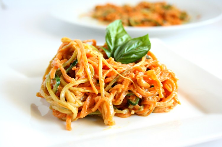 Sweet Potato and Zoodle Pad Thai
