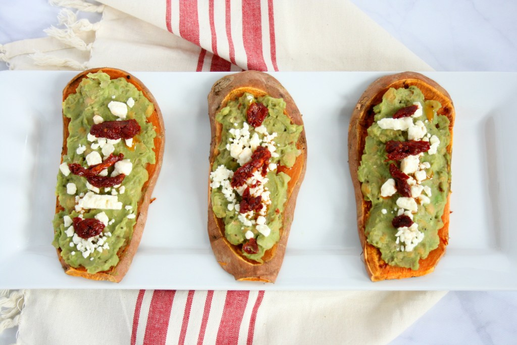 """Everyone has heard the saying breakfast is the most important meal of the day. But, what if you don't like """"breakfast foods""""? Try my savory high protein sweet potato toast. This nutritious breakfast is packed with protein, healthy fats, vitamins, and minerals."""