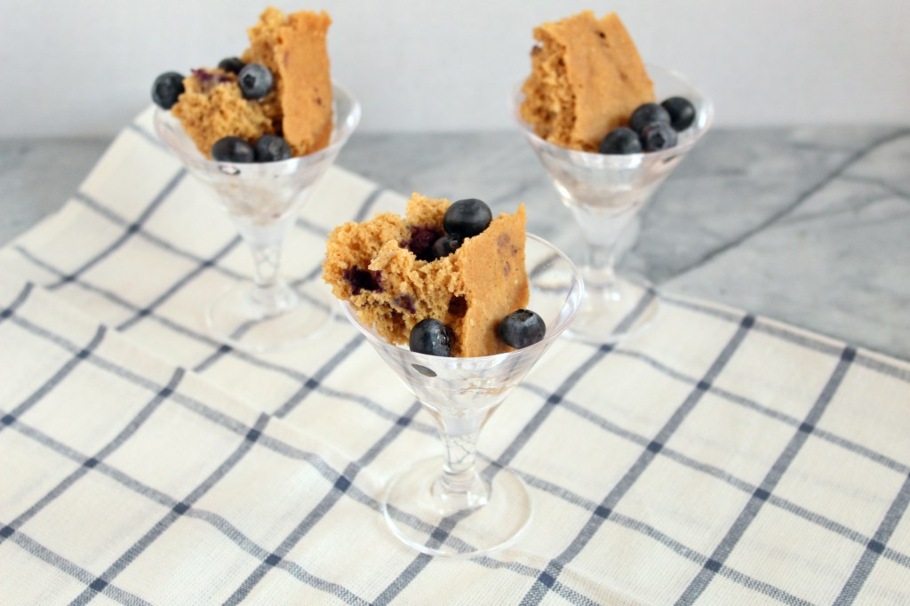 Instant Pot Blueberry Pancake Cups are the perfect breakfast or brunch treat. Made with better for you ingredients, these pretty little cups not only look and taste good, but they're also good for you!