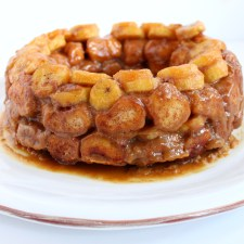 Bananas Foster Monkey Bread