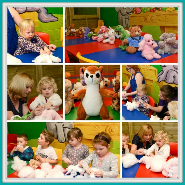 Build a Bear Party Lemur Landings