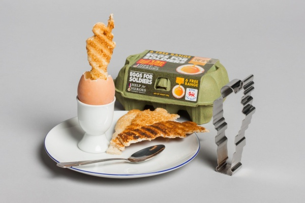 Eggs for Soldiers Toast Army