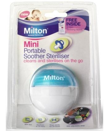 milton soother steriliser