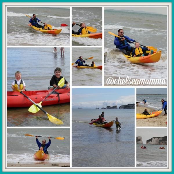 Kayaking at Studland