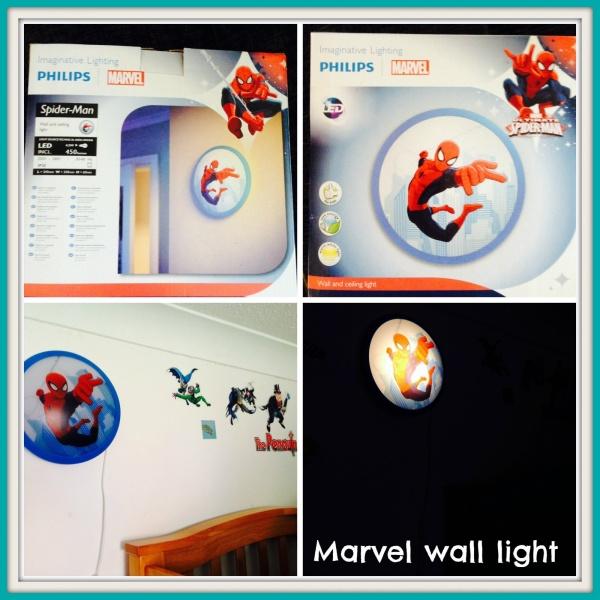 Marvel wall light