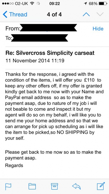 Email gumtree