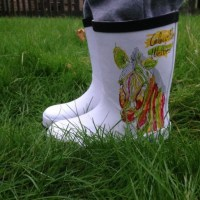 Colour Me Wellies