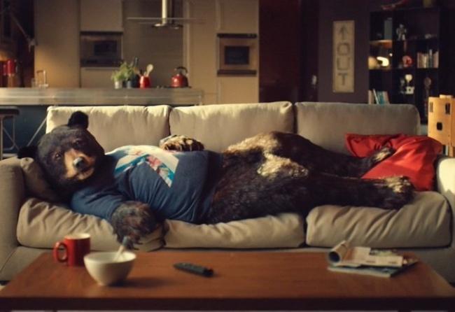 Ed the Sofa Bear