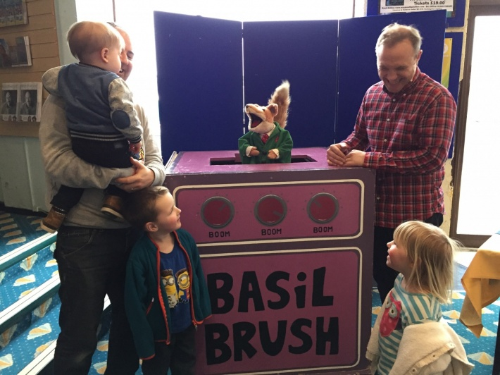 Basil Brush Tour