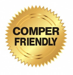 Comper Friendly Badge