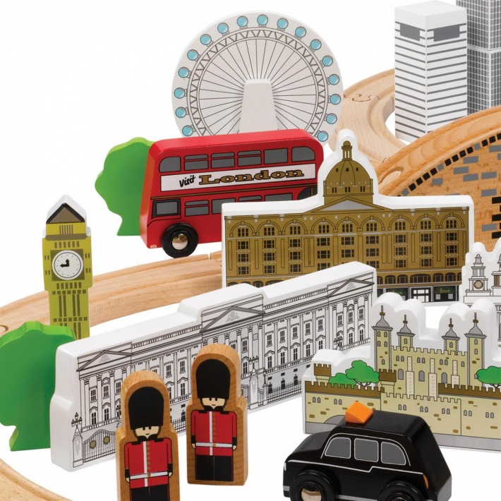 Tidlo London Train Set