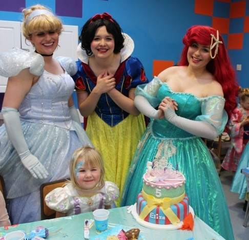 Eliza's Princess Party