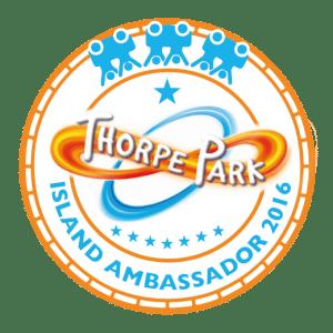 Thorpe Park Ambassador