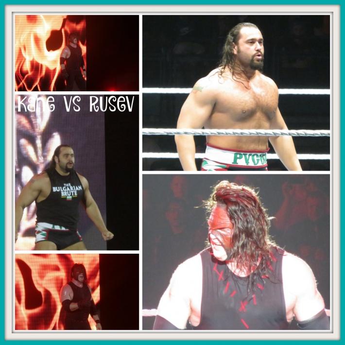 Kane vs Rusev