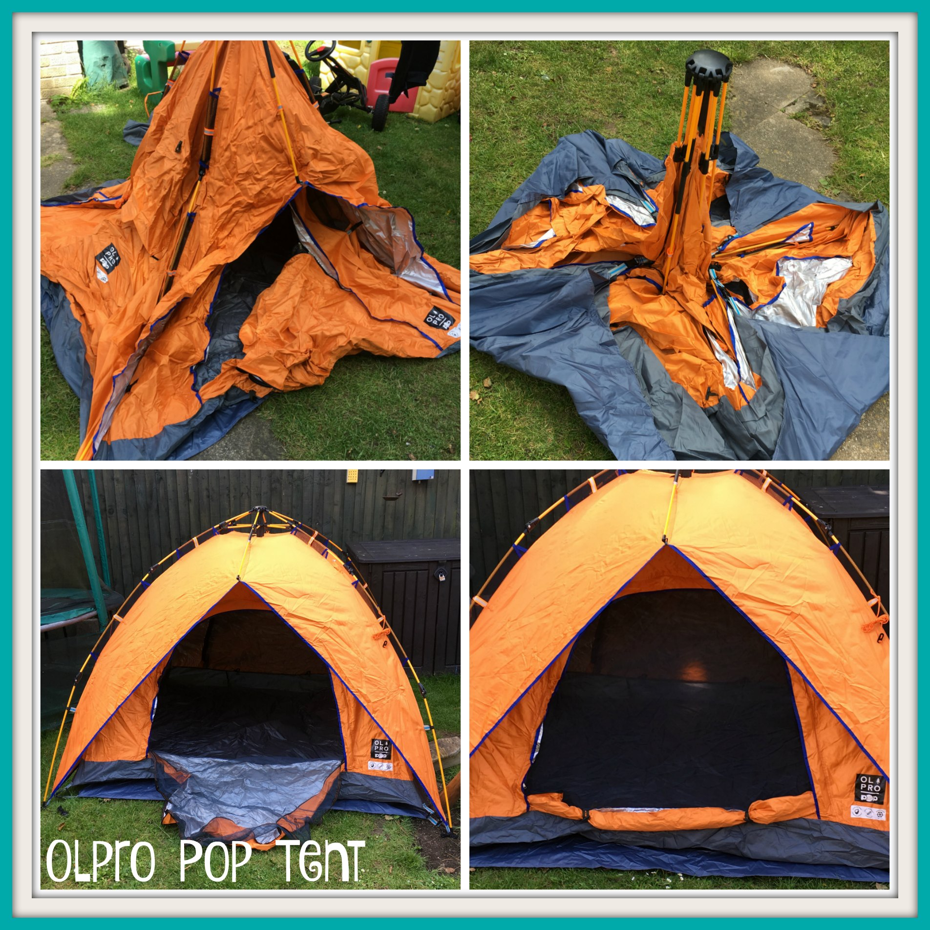 reviews olpro pop tent